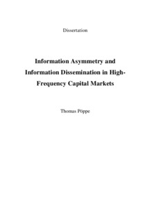 Phd thesis on capital market